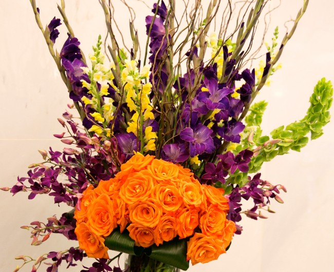 Urban Petals was honored to create the floral designs celebrating the annual Jefferson lecture, sponsored by the NEH.