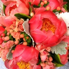 Peonies & Berries - Urban Petals
