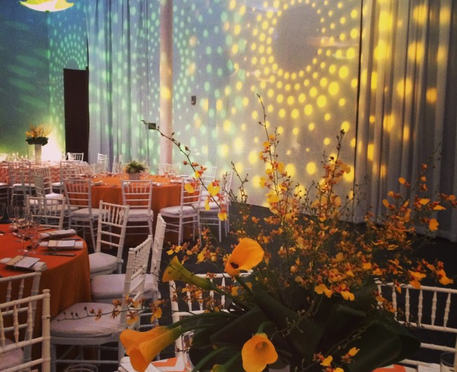 Urban Petals was pleased to provide floral arrangements for the Kennedy Center Legacy Society event.